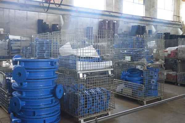 Butterfly valve body warehouse