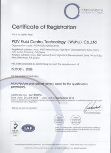butterfly valve ISO9000-1