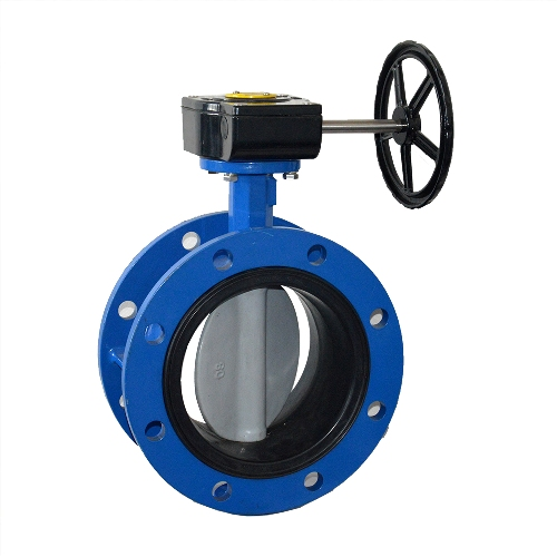 butterfly valve end connection flange types