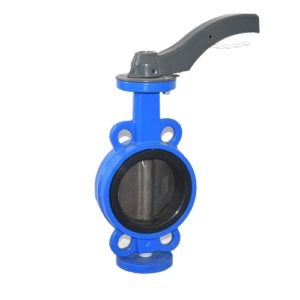 butterfly valve end connection wafer types