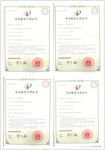 butterfly valve patent certificate 2