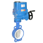 Characteristics of electric butterfly valve gear drive.