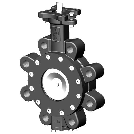 high performance lug butterfly valve