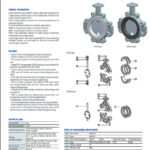 lined paf butterfly valve