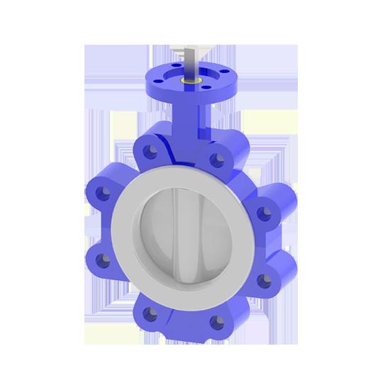 lug pfa butterfly valve