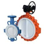 Notes for installation of electric actuator and valve.