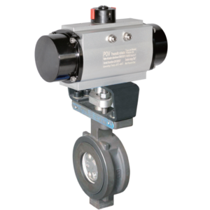pneumatic butterfly valve High performance