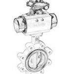 Installation requirements of pneumatic butterfly valves