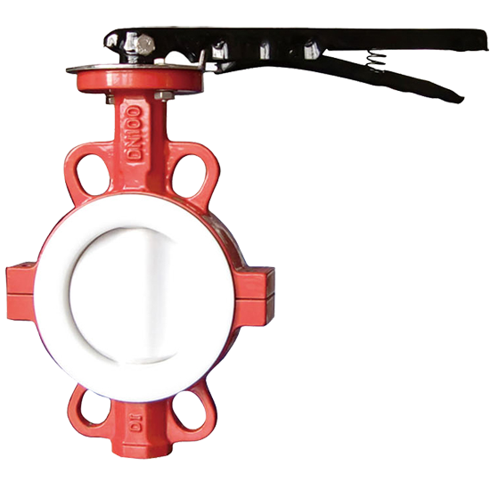 wafer ptfe butterfly valve
