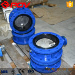 Notes for use of telescopic flange butterfly valve.