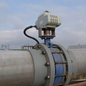 butterfly valve application