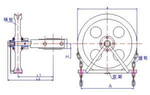 butterfly valve chain wheel operator (1)