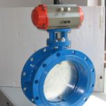 The working principle and characteristics of pneumatic butterfly valves