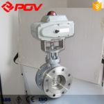 Selection of electric actuator for electric butterfly valve.
