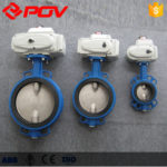Difference between electric butterfly valve and electric gate valve.